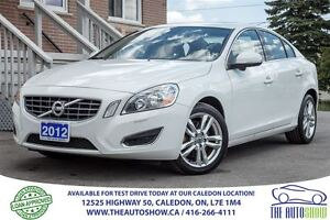 2012 Volvo S60 T6 AWD | ONE OWNER | ACCIDENT FREE