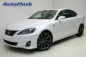 2011 Lexus IS 250 F-Sport! * Navigation * Caméra * Paddle-Shift