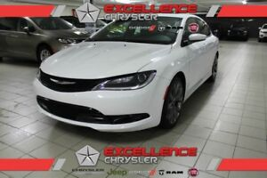 2016 Chrysler 200 S CUIR/TOIT/NAV/CAMERA