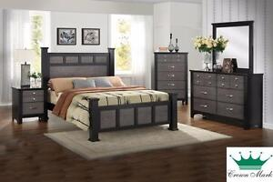 Brand NEW Reagan Queen Bed! Call709-726-6466!