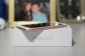 Apple Iphone 6s 128GB Pink sim free unlocked Like New