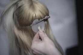 Professional hair extension Keratin bonds Nano and Micro rings, 100% REMI human hair