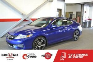 2016 Honda Accord Coupe L4 Touring CVT |CUIR|NAVI|TOUJOURS BIEN