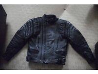 Mens Motorcycle jacket small/medium