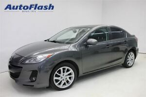 2012 Mazda MAZDA3 GT 2.5L * M6 * Cuir/Leather * Toit/Roof *