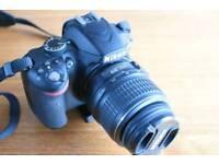 Nikon D3200 DSLR with Nikkor 18-55mm lens