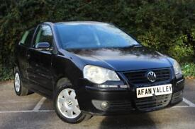Volkswagen Polo S 3dr **1 LADY OWNER** (black) 2005