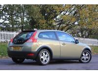 VOLVO C30 1.6 D DRIVE SE 3d 109 BHP RAC WARRANTY + BREAKDOWN (green) 2009