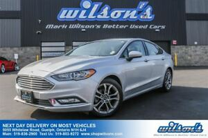 2017 Ford Fusion SE LEATHER! SUNROOF! REAR CAMERA! POWER DRIVERS
