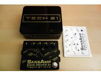 Tech21 SansAmp Bass Driver DI Box and Pedal