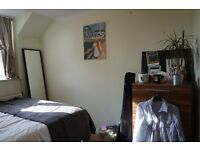 Double room in a spacious flat in the center of Bath