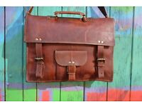 Genuine Leather Bags and Satchels ***XMAS SALE 10% OFF*** Brand New and Fairtrade