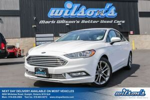 2017 Ford Fusion SE SUNROOF! REAR CAMERA! POWER DRIVERS SEAT! SY