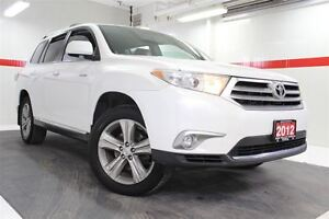 2012 Toyota Highlander 4WD DVD Heated Lthr Nav Sunroof Btooth BU