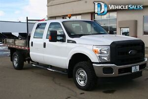 2013 Ford F-350 XL, 4x4, Flat Deck, Leather, Command Start