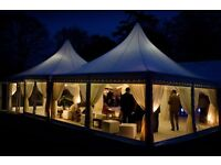 Marquee hire for weddings, private events, parties, engagements etc