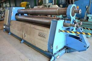 BIRLIK 30X13 Three Roll Plate Bending Machine (USED)