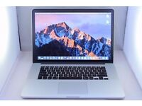 LATEST APPLE MACBOOK 15 RETINA DISPLAY 2014/15 2.2GHZ INTEL CORE I7 16GB RAM WIFI WEBCAM EXCELLENT