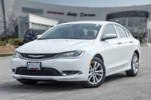 2016 Chrysler 200 Limited, SUNROOF, U-CONNECT
