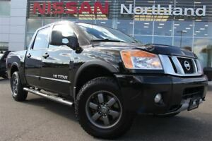 2013 Nissan Titan PRO-4X/Leather/4X4/Bed-Liner/Alloys