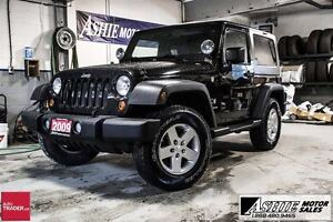 2009 Jeep Wrangler X HARD TOP! ALLOYS! 4x4!
