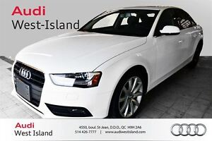 2013 Audi A4 2.0T PREMIUM PLUS NAVIGATION, CAMERA RECUL