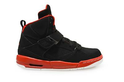 135497fd4e3a3e Juniors Nike Jordan Flight 45 High IP BG - 845095 002 - Black Red Trainers  фото