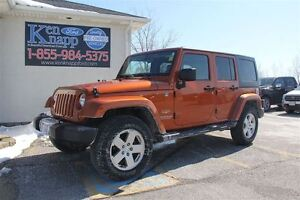 2011 Jeep WRANGLER UNLIMITED Sahara LEATHER 4WD