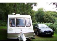 1997 Fleetwood 2 berth 1500L caravan