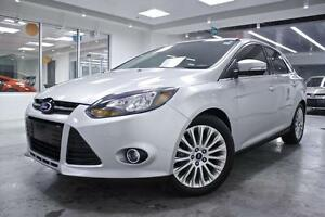 2012 Ford Focus Titanium, NAV, PWR GRP, ONE OWNER, MINOR ACCIDEN