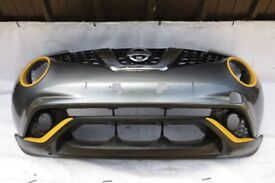 NISSAN JUKE FRONT BUMPER IN GREY FITS 2014-2017 YELOW EDITION
