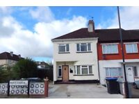 THREE BEDROOM END OF TERRACE HOUSE TO RENT, KINGSBURY NW9