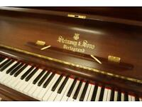 Steinway Upright Piano. Tuned and UK delivery available
