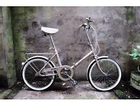RALEIGH SAFARI, vintage shopper folding bike, 3 speed