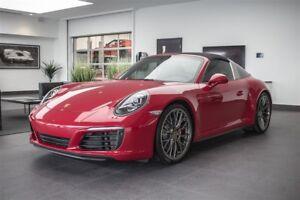 2017 Porsche 911 Targa 4S PDK Premium Pack Sport Exhaust BOSE