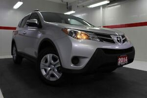 2014 Toyota RAV4 AWD Btooth BU Camera Cruise Alloys Pwr Wnds Mir