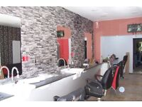 Experienced barber required for new shop. Rent one of 3 chairs