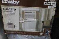 danby air conditioner 8000btu with remote