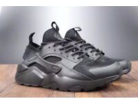 Nike Air Men's Classic Ultra Black Mesh Huaraches Sizes 6, 7, 8, 9, 10, 11 & 12 Brand New In Box
