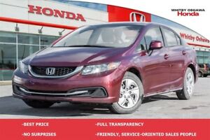 2013 Honda Civic LX | Manual