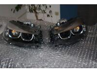 Pair of Headlights Left hand drive Europe type bixenon LCI BMW 3er GT F34 2003 - 2017 LHD
