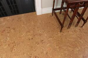 Warm up Your Damp Cold Basement with Cork Flooring, Cork Floating Floor + Cork Underlayment is Best Thermal Insulation