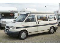 Autosleeper Trooper, VW T4, 2000, 2.4D, PopTop, 4 Berth Camper Van, Only 51516 Miles