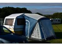 4 berth caravan with new awning