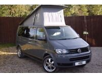 VW CAMPERVAN T30 2.0 LWB 2015 102ps Pure Grey Exterior. OPEN TO OFFERS £34,000 ONO