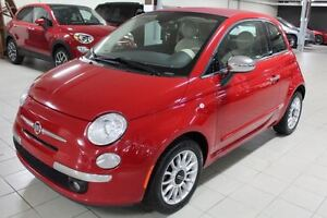 2012 Fiat 500C LOUNGE*CONVERTIBLE/CUIR/MAGS*