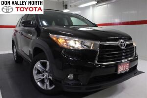 2015 Toyota Highlander LIMITED V6 AWD Sunroof Nav Btooth Heated