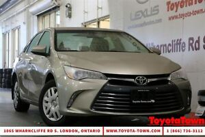 2015 Toyota Camry LOW MILEAGE SINGLE OWNER LE WITH POWER SEAT