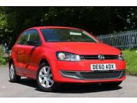 VOLKSWAGEN POLO 1.4 SE 3d 85 BHP (red) 2010