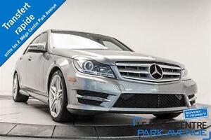2013 Mercedes-Benz C350 4MATIC * PROMO PNEUS D'HIVER * GPS, CAMÉ